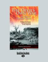 The Devil's Own War: The First World War Diary of Brigadier-General (Large Print 16pt) - Hart, Herbert