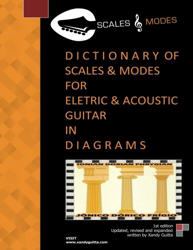 Dictionary of Scales and Modes for Eletric and Acoustic Guitar in d I a G R a M S : Scales and Modes - Alexandre Silva Cruz