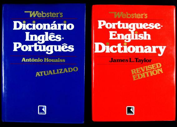Webster's Dicionário Inglês-Português. Atualizado = Portuguese-English Dictionary. Revised edition (2 vol.) - Houaiss, Antônio & Taylor, James L.