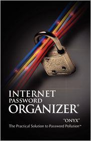 Internet Password Organizer: Turquoise - Innovention Lab