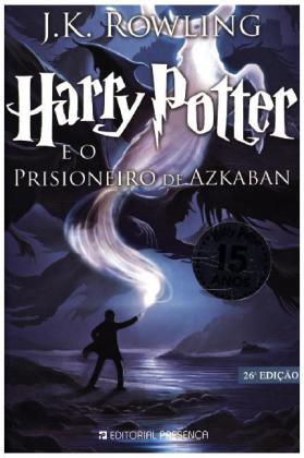 Harry Potter, portugiesische Ausgabe: Harry Potter e o Prisioneiro de Azkaban - Ausgezeichnet mit dem Whitbread Children's Book Award - Rowling, Joanne K.