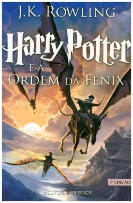 Harry Potter, portugiesische Ausgabe: Harry Potter e a Ordem da Fenix. Harry Potter und der Orden des PhÃnix, portugiesische Ausgabe - Nominiert fÃr den Deutschen Jugendliteraturpreis 2004, Kategorie Preis der Jugendlichen - Rowling, Joanne K.