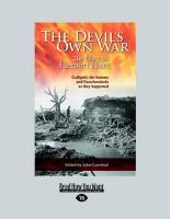 The Devil's Own War: The First World War Diary of Brigadier-General (Large Print 16pt) - Hart, Herbert