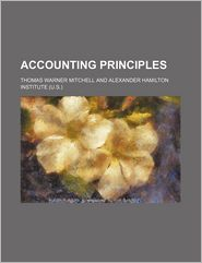 Accounting Principles - Thomas Warner Mitchell