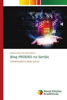 Blog PROERD no Sertão - Letramento e ação social - Oliveira, Débora Maria da Silva